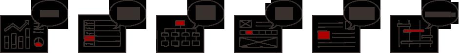 企画書 ファイル設計書 遷移設計書 モックアップ キックオフシート スケジュール