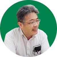 入試広報課長 田端尚樹 様