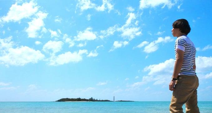 宮古ブルーの海