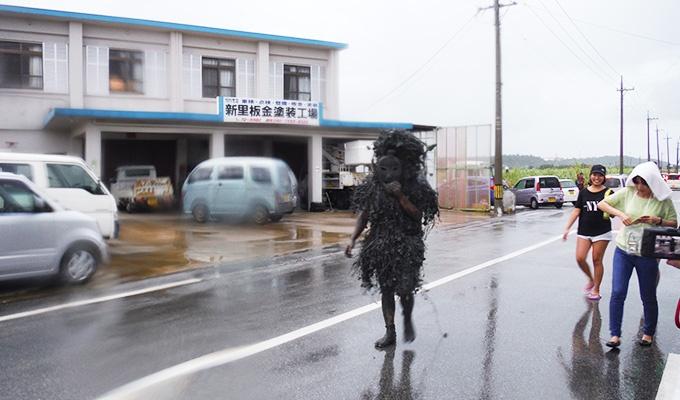 宮古島の伝統行事「パーントゥ」