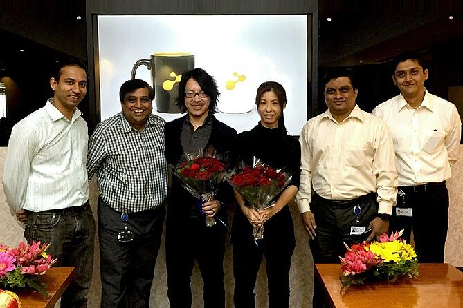 インドのマーケティング会社e-Zest社の皆さま
