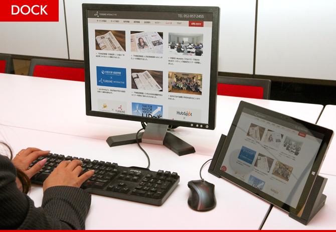 Surface Proはドッキングステーションを活用してデスクトップPCにもなる